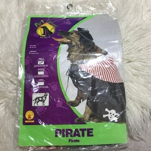 NWT Rubie's PIRATE dog costume small cape and hat